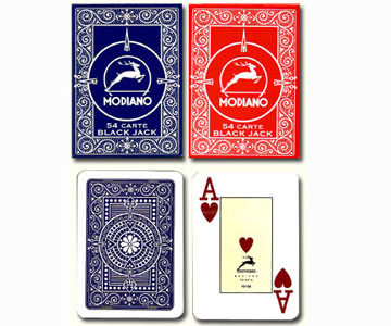 Modiano blackjack  marcat carduri